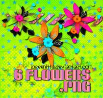 Flowers Colours png by Loreenitta