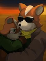 James And Fox Mccloud James McCloud by whisp...