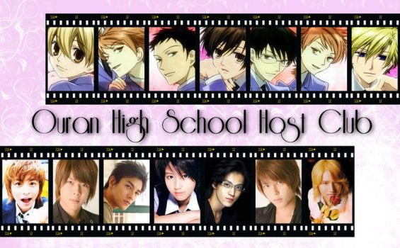 My Ouran Cast - Junno Version by KokoroNoExists