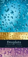 Droplets - Texture Pack by kuschelirmel-stock