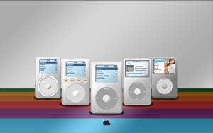 Classic iPod Evolution by SkyJohn