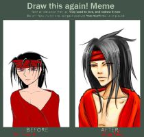 Meme: Before and After... by Helfyr
