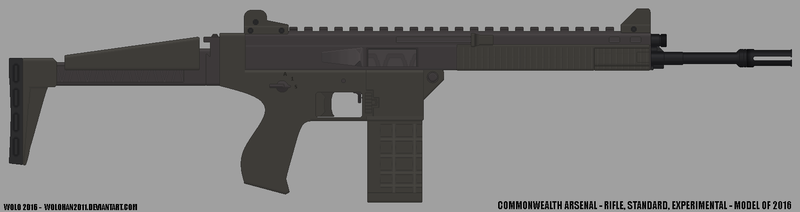 Rifle, Standard, Experimental - Model of 2016 by Wolohan2011