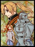 FMA-Alphonse-TIME by BrokenRomance3