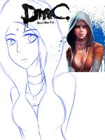 WIP | DmC Cat Sketch by flowwithnemo