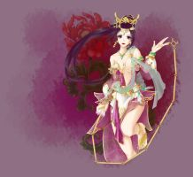 Dynasty Warriors 8]Diaochan by Draven4157