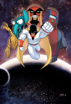 Space Ghost by EagleGosselin