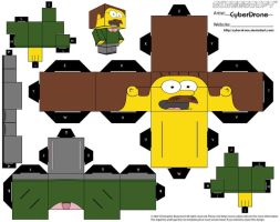 Cubee - Ned Flanders by CyberDrone