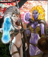 Girls of Primal Power, II by Maelora69