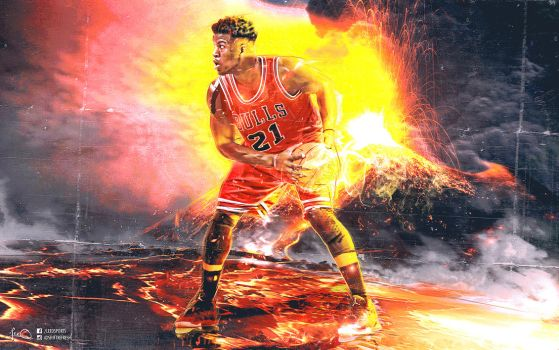 Jimmy Butler NBA Wallpaper by skythlee