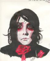 Gerard Way - Red Rose - by Gerard-Fanatic