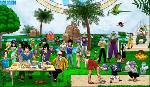 Dragonball- The team by DBZwarrior