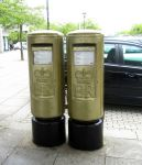 Olympic Gold Winners Post Boxes by pma27