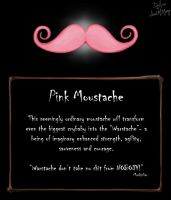 ITEM: Pink Moustache by AsDuskFalls