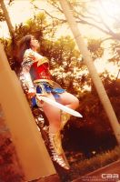 Diana of Themyscira_Wonder Woman_Flying by Jessie-TR