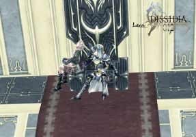 FF Dissidia 012 - the old temple of chaos by Light-Ferron