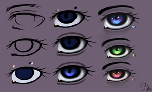 Eyes - Tutorial by julcha97