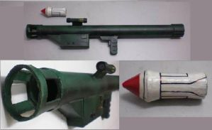 Bazooka  Rocket Launcher by tkyzgallery