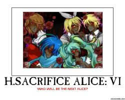 Human Sacrifice Alice: V by HC-IIIX