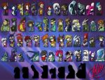 Tail Chasers - Official Racers by AndrewDickman