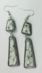 Clear Brook Earrings by Von-Laquacious