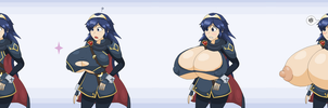 (POLL WINNER) Lucina and her ''final smash'' by Elfdrago