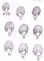 Tetsuya Expressions by bloomacnchez