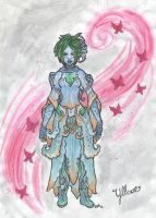 Guild wars 2 Yllvae the Sylvari Mesmer by sbslink