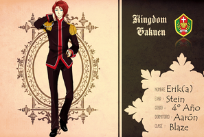 Ficha Adan KingdomGakuen by CaroOff