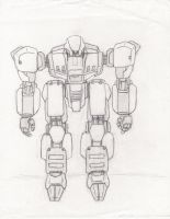 My Front Mission Mech by Xenomech