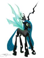 Queen Chrysalis by JakeRomano