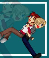 .:Leon + Claire:. by shinolover55