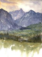Daily Watercolor Jan 16.2012 by Shadow-stepper