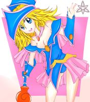 Dark Magician Girl by the-Rov