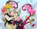Meliodas And Elizabeth by chibipunk7231