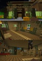 My Little Cute Minecraft House updated by Kium