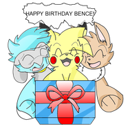 Happy Birthday Bence by Sonic201000