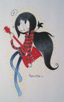 Marceline Colored by PlatypusPanda