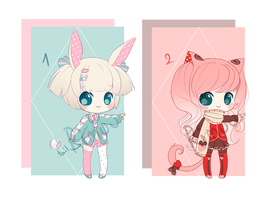 Kemonomimi adopts - CLOSED - Set Price! by rimuu