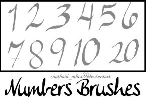 Numbers by snathaid-mhor