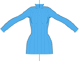 MMD- Sweater top -DL by MMDFakewings18
