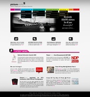 PictureWorks Website by dustbean11