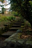 Stairs -stone 002 by akio-stock