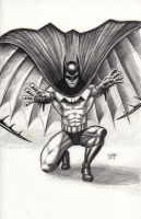 Batman-Batarang Throw 2013 by myconius