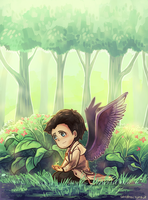 SPN - His Little Garden by say0ran