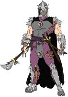 The Shredder Colored by Axel-Knight