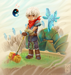 :Bastion: The Kid by BlackMayo