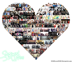 Shawol 4-Ever + 5th Anniversary by SNSDLoveSNSD