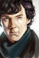 Sherlock by stokesbook