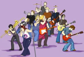 KC's Band-with Leif Shires by Neale